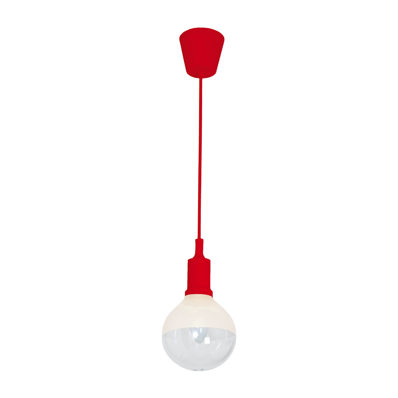 Hängelampe Milagro BUBBLE RED 462 Red 5W