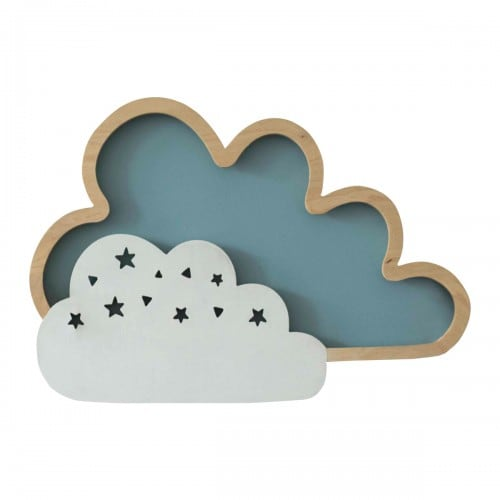 Wandleuchte Clouds Blue 8W