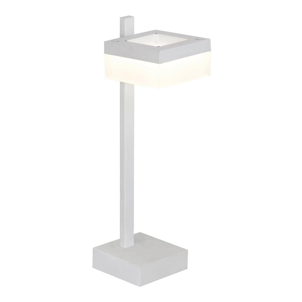Schreibtischlampe Milagro CUBO 159 Sandweiß 12W