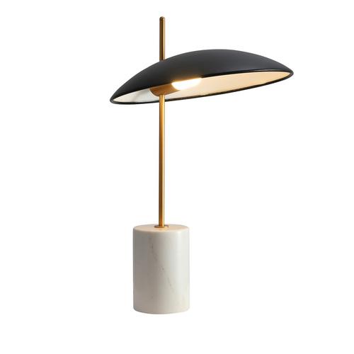 Schwarze Vilai LED Schreibtischlampe