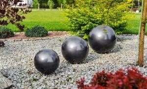 Dekorativer Ball für den Garten. Farbauswahl 22 cm small 11