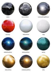 Dekorativer Ball für den Garten. Farbauswahl 22 cm small 14