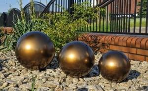 Dekorativer Ball für den Garten. Farbauswahl 22 cm small 7