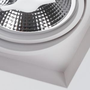 Weißer Fleck Arctico AR111 ohne Rahmen bündig montiert small 3