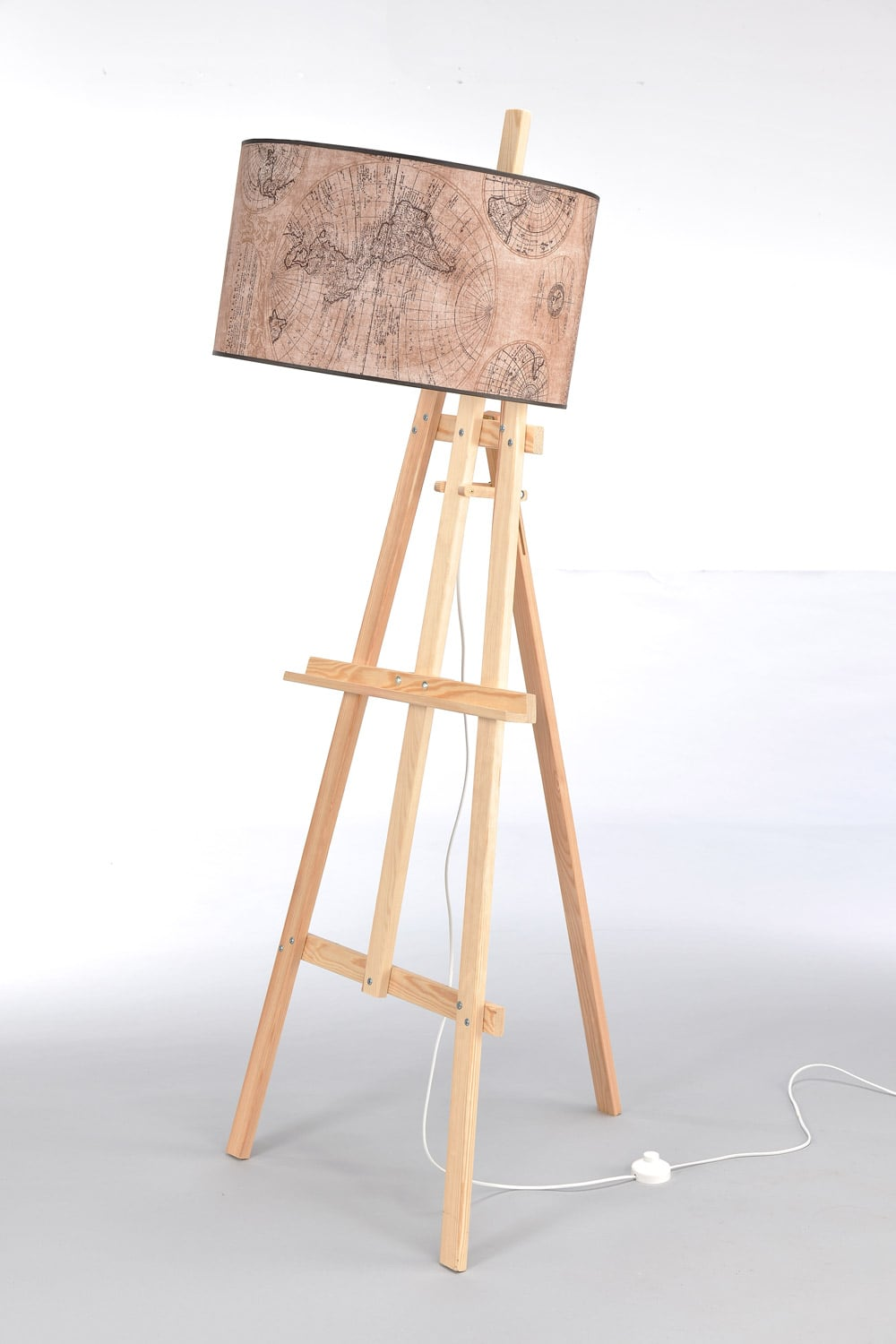 Stehleuchte Easel Light Wood No. 2473