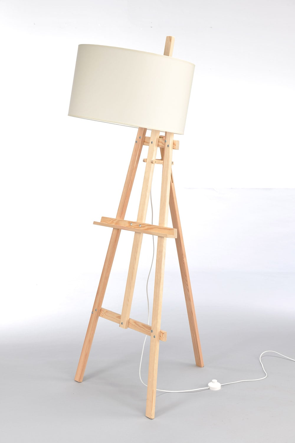 Stehleuchte Easel Light Wood No. 2472