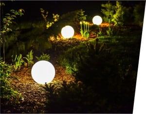 Elektrische Leuchtkugel - Flexi Ball Electric 30 cm mit Kabel und Glühlampe small 2
