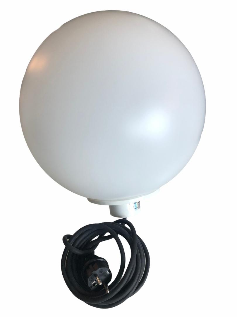 Elektrische Leuchtkugel - Flexi Ball Electric 30 cm mit Kabel und Glühlampe