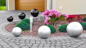 Dekorativer Ball für den Garten. Farbauswahl 30 cm small 4