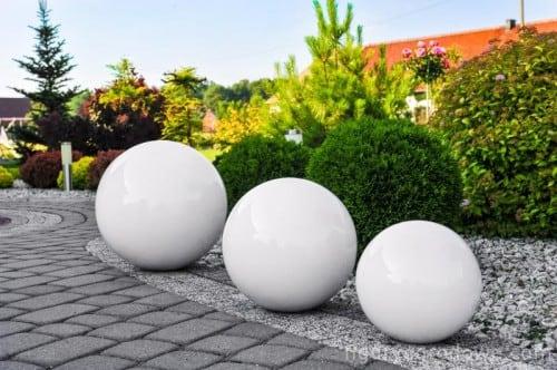 Kula dekoracyjna do ogrodu wybor kolorow 38 cm l