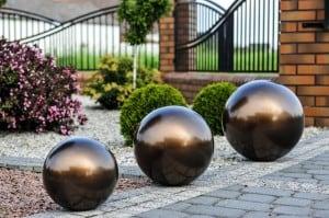 Dekorativer Gartenball Farbwahl 50 cm small 12
