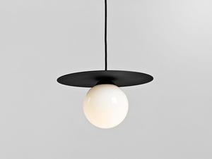 SKIVA BALL S Pendelleuchte - schwarz small 0