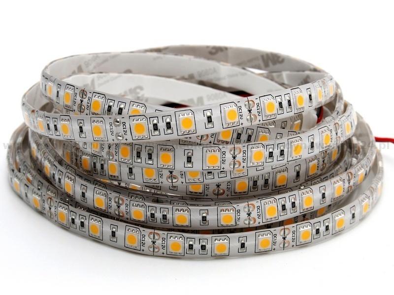 60 LED-Streifen 72 W. Kaltweiße Farbe. Ip65. (5 Meter)