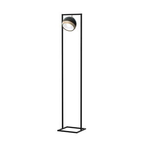 Stehlampe Oval Schwarz 1x E27 small 0