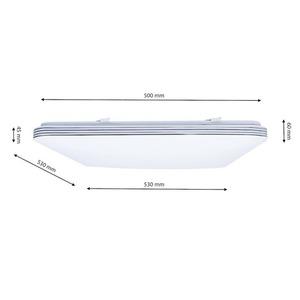 Palermo 72 W LED dimmbare Deckenleuchte + Fernbedienung small 7