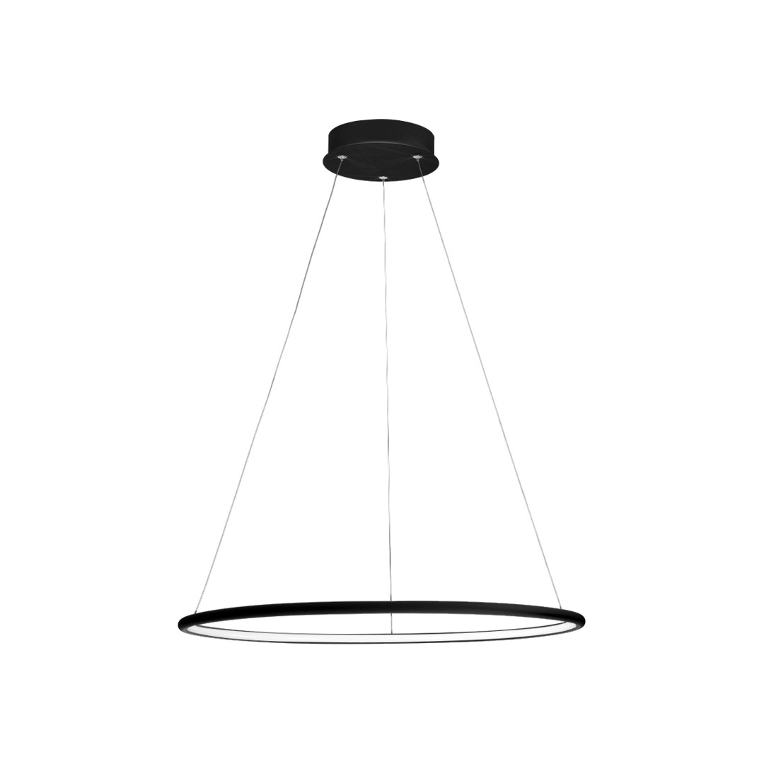 Orion Black 22W LED Pendelleuchte