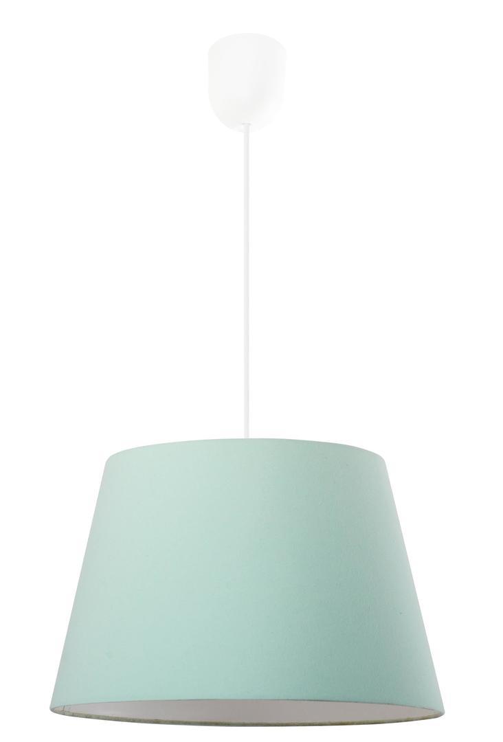 Modernes hängendes Lampenpastellgrün