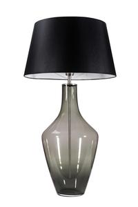 Ceylon S Grey Famlight E27 60W Kommodenlampe, handgefertigt small 0