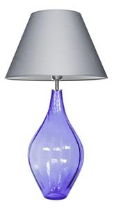 Lampe mit Glassockel Borneo Purple Famlight E27 60W polnische Produktion small 0