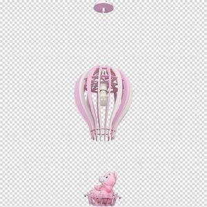 Hängelampe Ballon Pink 1x E27 60 W. small 7