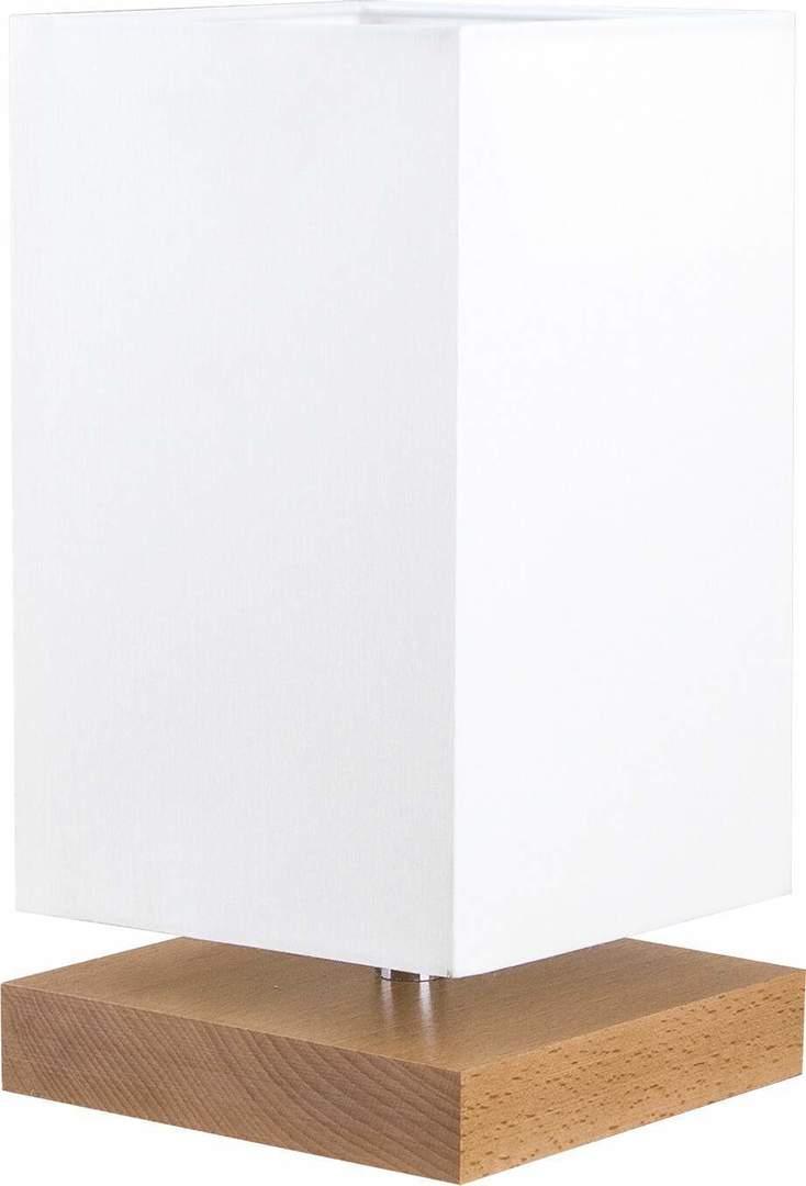 Tischleuchte aus quadratischem Holz 2 - 411.14.02