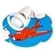 Wandleuchte Flugzeuge 521.71.08 small 2