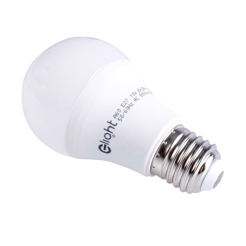 10W E27 A60 LED-Lampe. Farbe: Warm