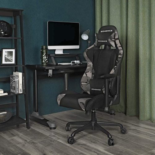 Gaming-Sessel mit Winter-Leopardenmuster Call of Duty RCG42GY