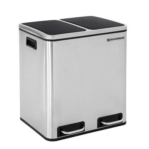 Abfallbehälter Edelstahl LTB30H