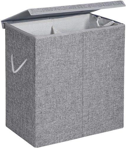 Grauer Wäschekorb LCB02G