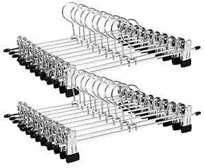 Set mit 20 Metallbügeln für Hosen CRI003-20