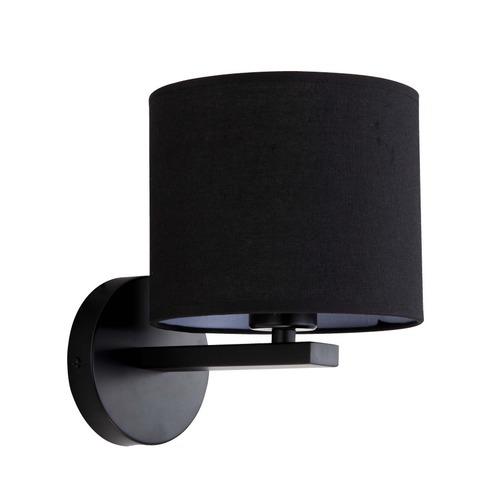 Cecina schwarze Wandlampe