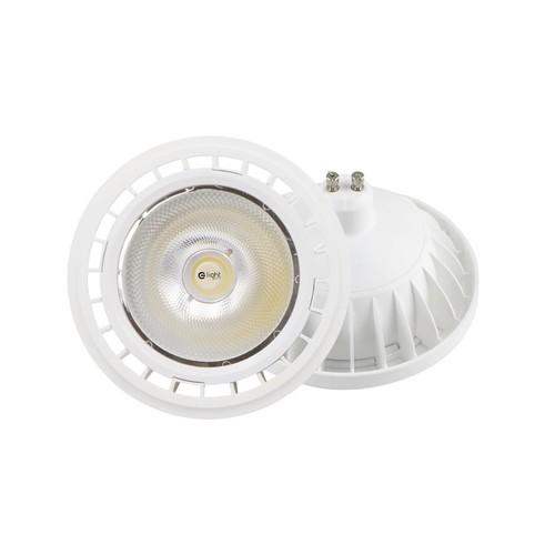 Lampe Ar111 6 W Gu10 3000 K / Weiß