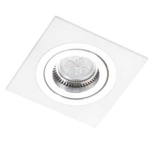 Weißes Quadrat Alcazar mit Chrom 541.WC