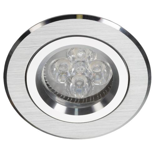 Silber Round Tilt Spot Alcoy 540.SC