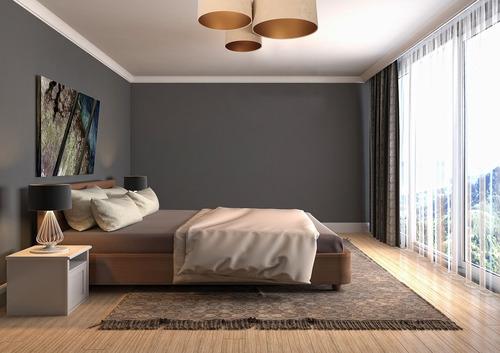 Moderne Deckenleuchte für das Wohnzimmer - Elemente 60W E27 Beige / Gold Veloursstoff