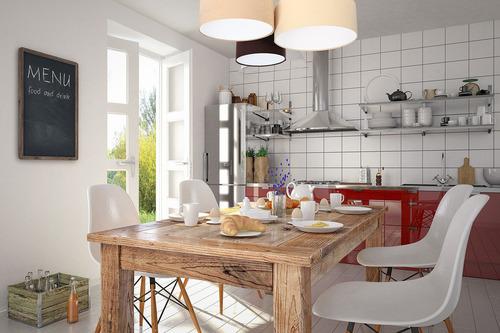 Deckenleuchte für die Küche, Deckenleuchte Elemente 60W E27 beige / creme / braun