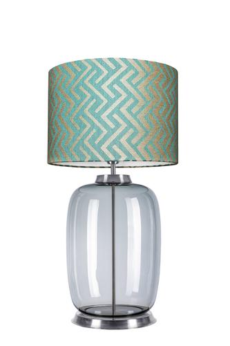 Desinger Tischlampe Laut Tisch Famlight Stone Blue E27 60W handgefertigt