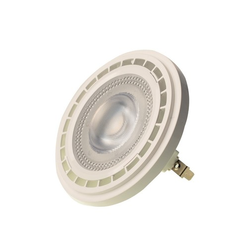 Glühbirne Ar111 10 W G53 3000 K / Weiß