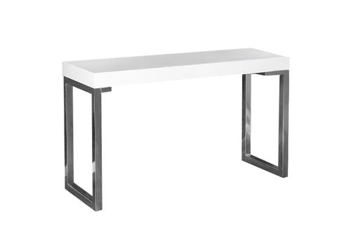 INVICTA Schreibtisch VERK 120x40 Weißstahl