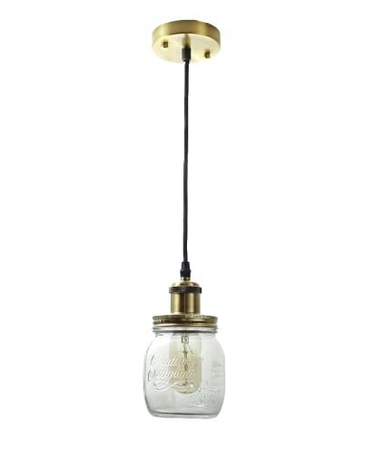 Rustikale Lampe Jar Jar Jaro-Light Small E27