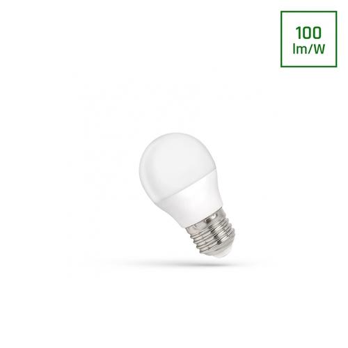 LED-Kugel E-27 230 V 1 W Cw-Spektrum