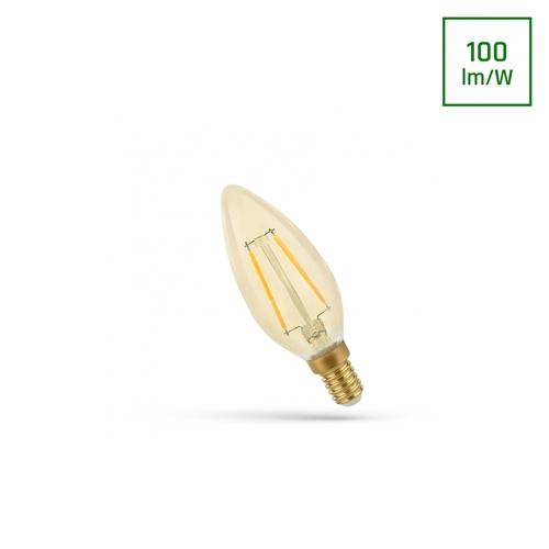 LED-Kerze E-14 230v 5w Zahnrad Ww Retroshine Spectrum