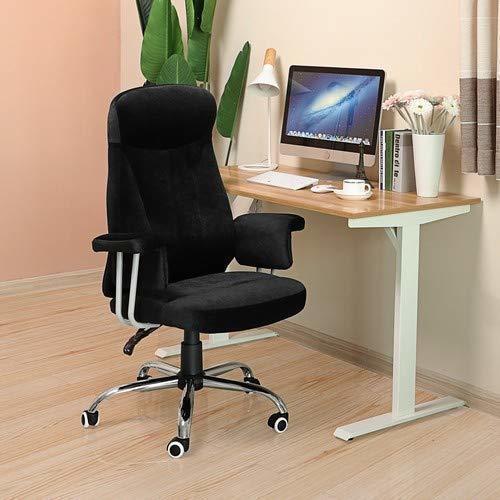 Eleganter Bürostuhl OBG41B Samtstoff