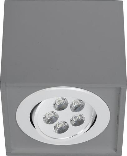 Leuchtenkasten LED GRAU 5W