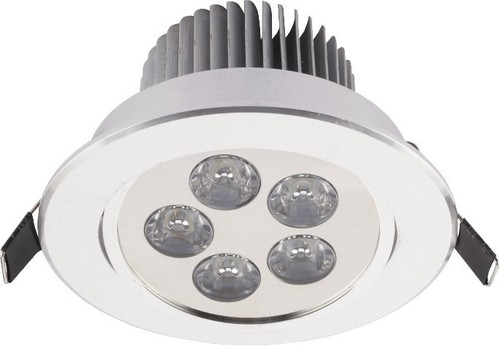 Leuchte: DOWNLIGHT LED V SILVER