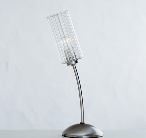 Crystal Lucernia Arpa Schreibtischlampe