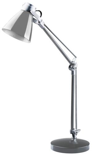 Schreibtischlampe Sophie 230V / 25W E14 silber