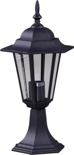Niedrige schwarze Stehlampe K-5009S aus der STANDARD-Serie