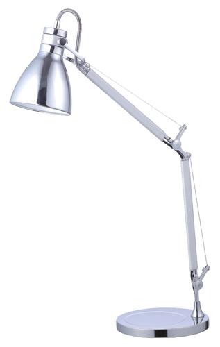 Schreibtischlampe Sarah 230V / 25W E27 chrom